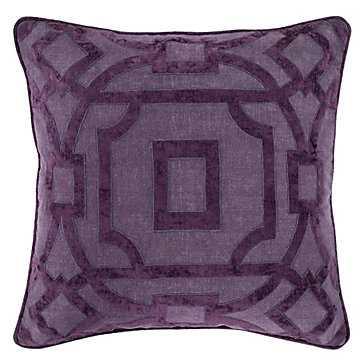 """Breslin Pillow 22"""" - Feather/Down insert - Z Gallerie"""
