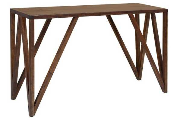 Bali Console Table, Chestnut - One Kings Lane
