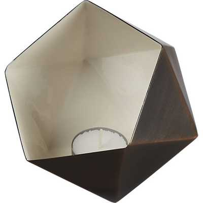 Geodesic tea light candle holder - CB2