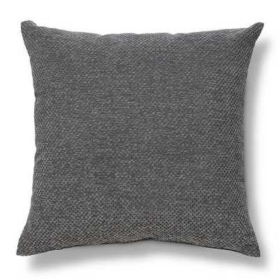 "Heathered Chenille Throw Pillow - Gray - 18"" x 18"" - Insert Included - Target"