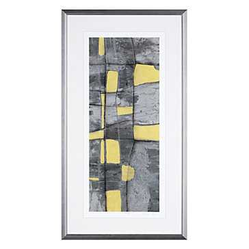 Lemon On Grey 1 - Limited Edition - Z Gallerie