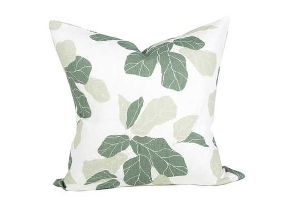 """FIDDLE LEAF PILLOW - 22x22"""" - McGee & Co."""