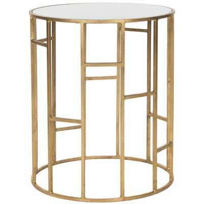 Safavieh Treasures Doreen Top Accent Table - Gold/ White - Overstock