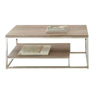 Lucia Coffee Table - Brown - Wayfair