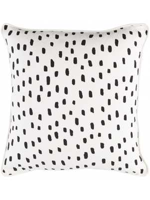 DALMATIAN PILLOW, BLACK w/ Poly Insert - Lulu and Georgia