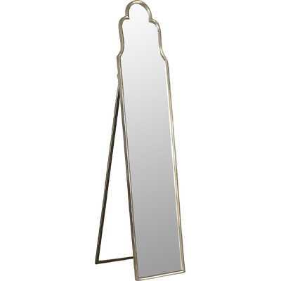 Cerano Arched Silver Mirror - Wayfair