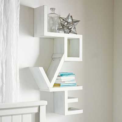 Love Shelf - Pottery Barn Teen