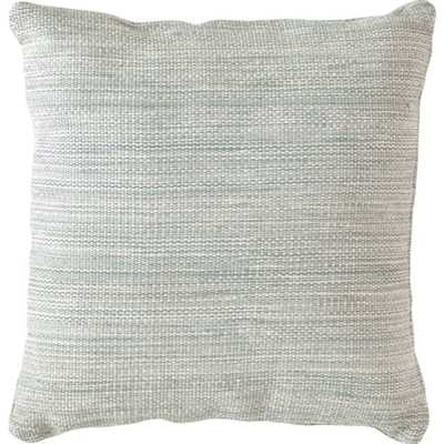 Fresh American Mingled Light Blue Indoor/Outdoor Pillow - 22x22 With insert - Fresh American