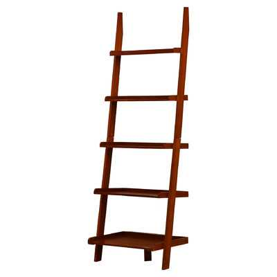 Merrimack Ladder Bookcase-Cherry - Wayfair