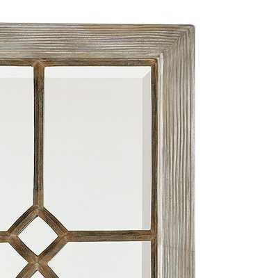 Garden District Mirrors - Set of 2 - Antique Gray - Ballard Designs