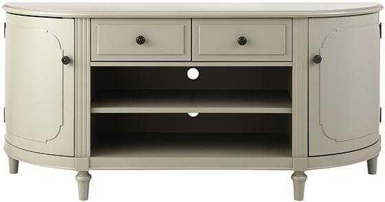 Martha Stewart Living™ Ingrid Media Cabinet - Rubbed Ivory - Home Decorators