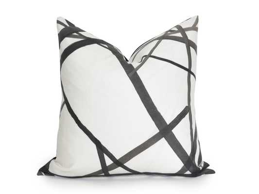 "Channels Pillow Cover - 18""x18"" Insert sold separately - Willa Skye"