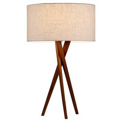 Adesso Brooklyn Table Lamp - Brown - Target