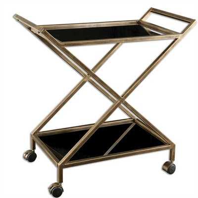 Zafina Bar Cart - Hudsonhill Foundry