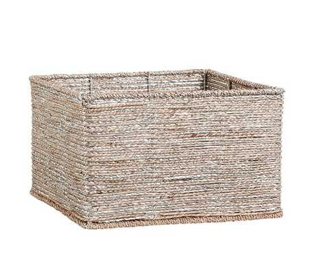 Silver Rope Storage - Small - Pottery Barn Kids
