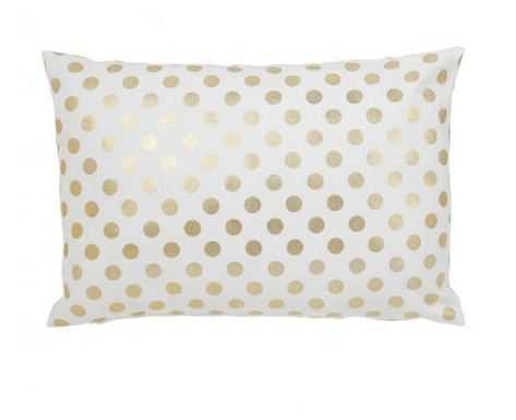 "GOLD DOT PILLOW - 14"" x 20"" - No Insert - Caitlin Wilson"