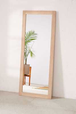 Simple Wooden Mirror - Brown - Urban Outfitters