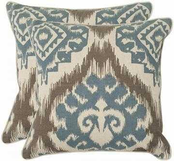 """Amiri 18"""" Pillows - Set of 2 - Blue/Grey - Home Decorators"""