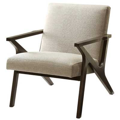 Upholstered Accent Arm Chair - Beige - AllModern