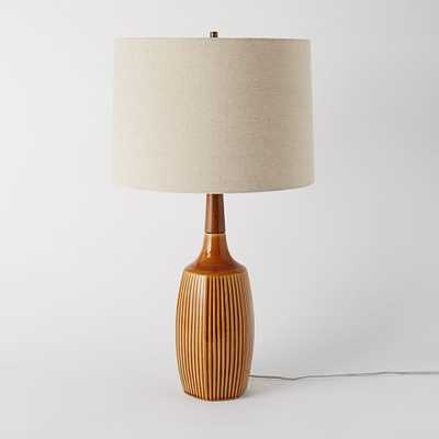 dbO Home Table Lamp - Mustard - West Elm