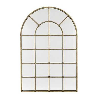 "Grand Palais 54"" Arch Mirror - Antique Silver - Ballard Designs"