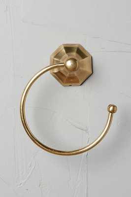 Brass Circlet Towel Ring - Anthropologie