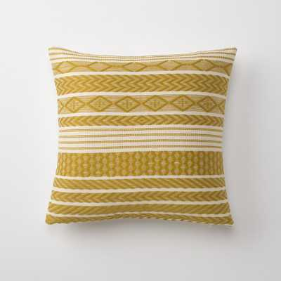 """Handwoven Mayan Throw Pillow - 18"""" x 18"""" with down filled insert - Schoolhouse Electric"""