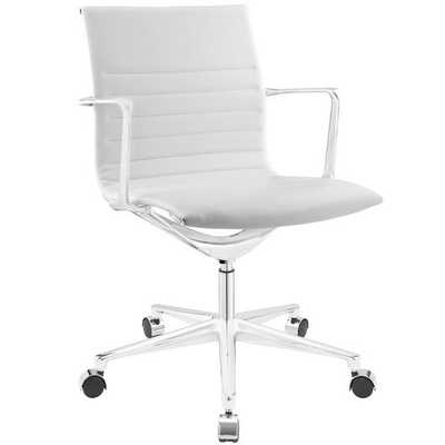 Vi Mid-Back Task Chair - White - AllModern