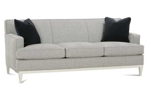 "Stella 77"" Sofa, Onyx Houndstooth - One Kings Lane"