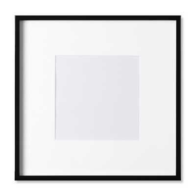 "Black Lacquer Gallery Picture Frame - 8"" X 8"" - Williams Sonoma"