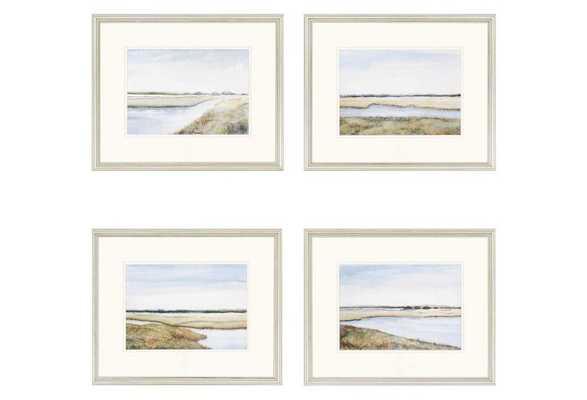 """Marshes - 18"""" x 22"""" - Framed - One Kings Lane"""