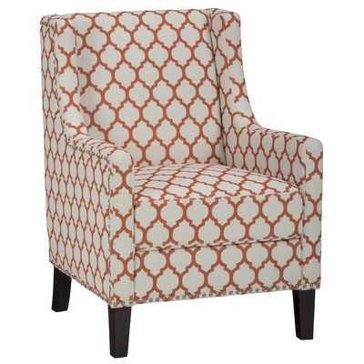 Jeanie Club Chair - Persimmon - Wayfair