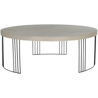 Ambrosios Coffee Table - Grey - Wayfair