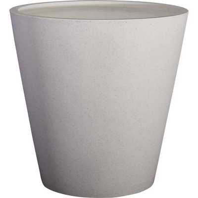 Shore wide polyterrazo planter - CB2