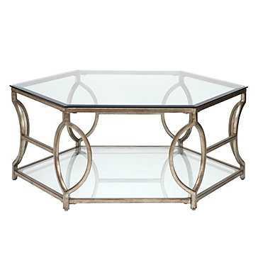 Brooke Hexagonal Coffee Table - Z Gallerie