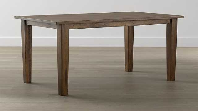 Basque Honey Dining Table - Crate and Barrel