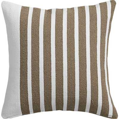 Division pillow - 20x20 - Down Insert - CB2