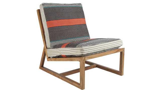 Sidi lounge chair - CB2