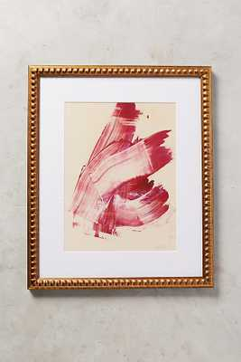 Hot Pink Abstract Wall Art - Anthropologie