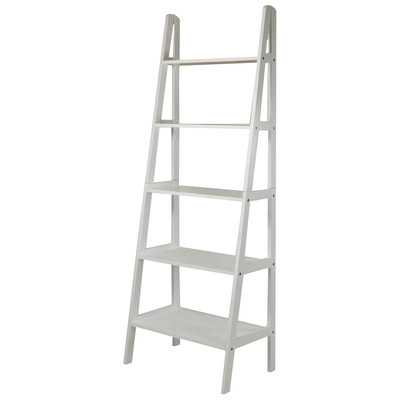 "5-Shelf 72"" Ladder Bookcase - Wayfair"