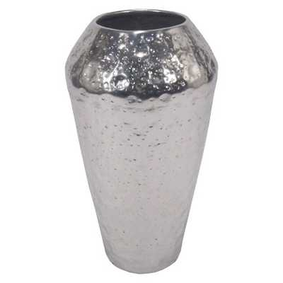 Textured Vase Silver Small - Target