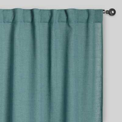 "Ocean Blue Bella Concealed Tab Top Curtains, Set of 2 - 48""W x 96""L - World Market/Cost Plus"
