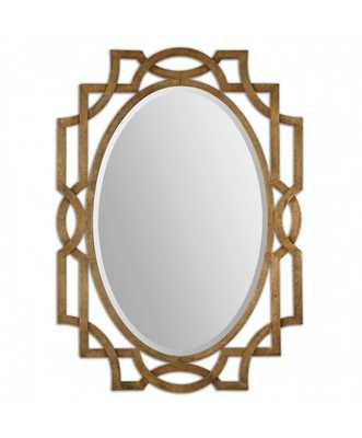 Gold Oval Accent Mirror - Wayfair