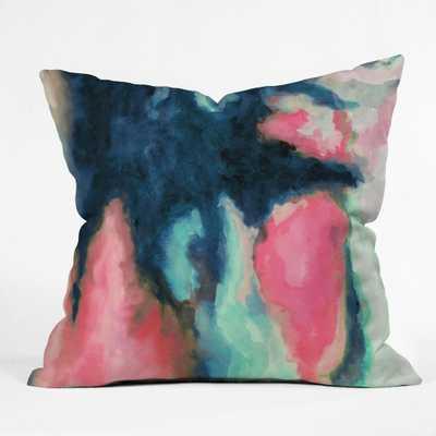 SUN SHADOW Throw Pillow - With Insert - Wander Print Co.