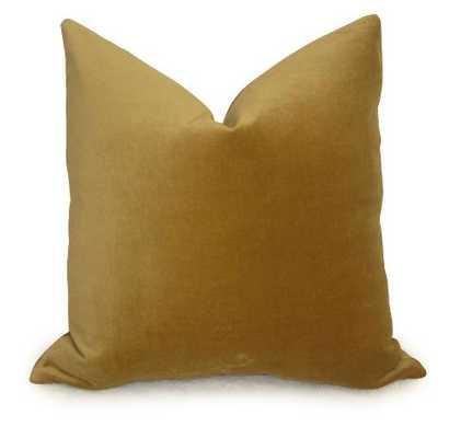 """Cotton Velvet Pillow Cover - 18"""" x 18"""" - No Insert - Willa Skye"""