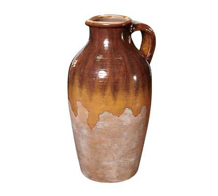 Sicily Terra Cotta, Tall Chocolate Pitcher - Pottery Barn