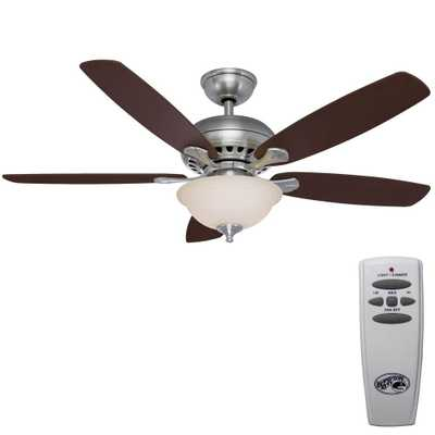 Southwind Brushed Nickel Ceiling Fan - Home Depot