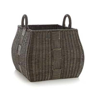Auburn Square Basket - Crate and Barrel