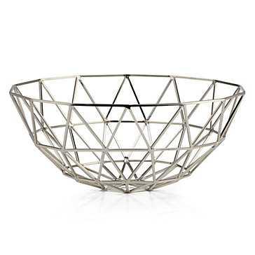 Hexadome Bowl - Nickel - Z Gallerie