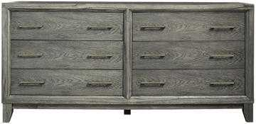 SLOANE 6-DRAWER DRESSER - Gray Wash - Home Decorators